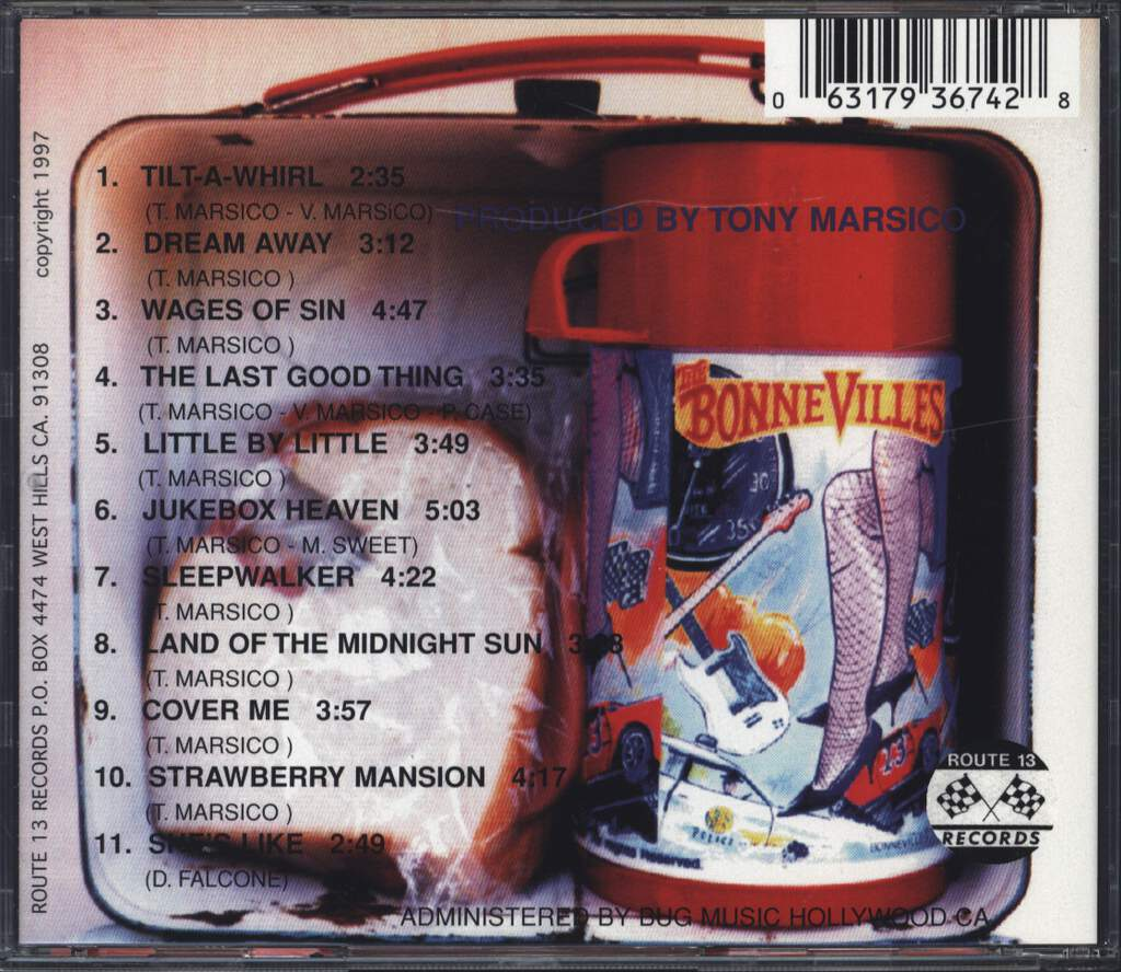 The Bonnevilles: High Speed Low Drag, CD