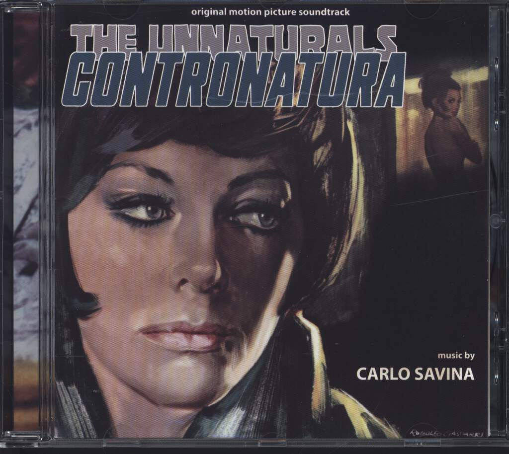 Carlo Savina: Contronatura - The Unnaturals, CD