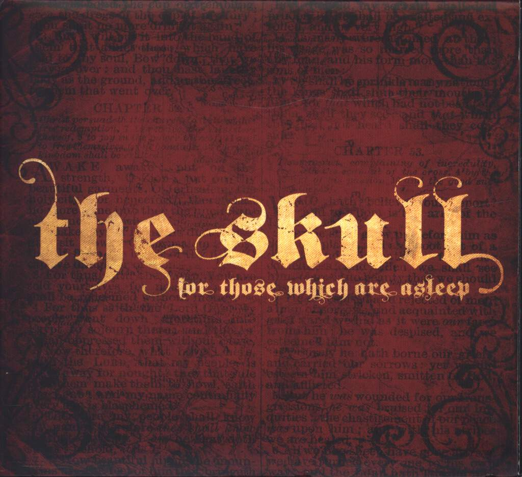 The Skull: For Those Which Are Asleep, CD