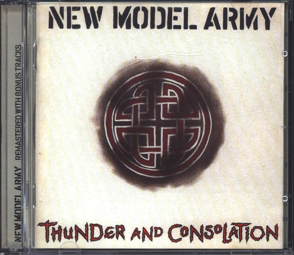 New Model Army: Thunder And Consolation, CD