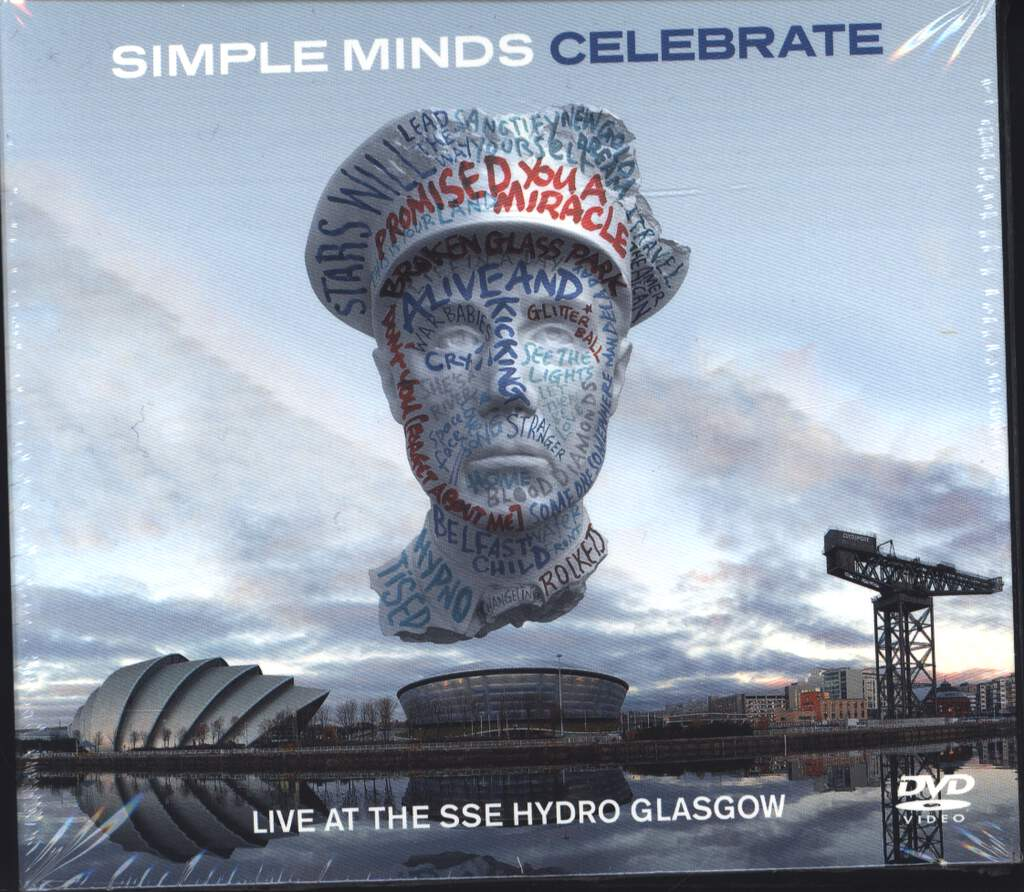 Simple Minds: Celebrate (Live At The SSE Hydro Glasgow), CD