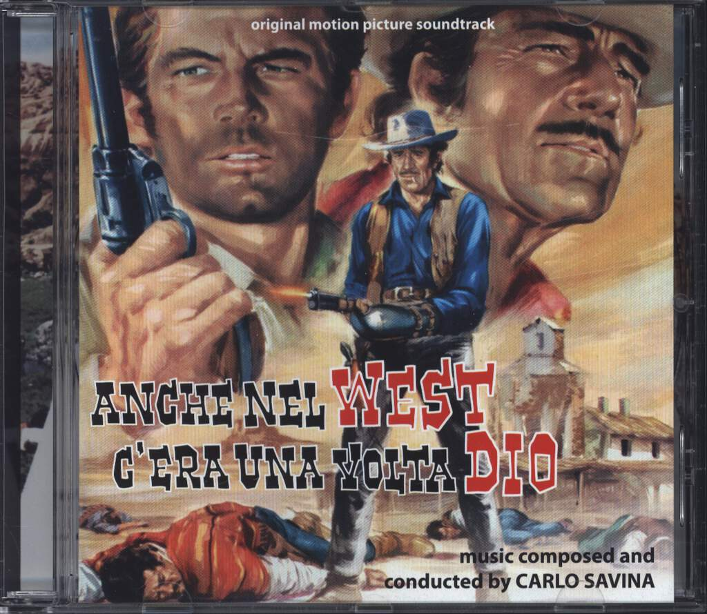Carlo Savina: Anche Nel West C'Era Una Volta Dio (Original Motion Picture Soundtrack), CD