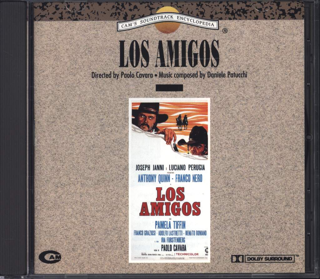 Daniele Patucchi: Los Amigos (Original Soundtrack), CD