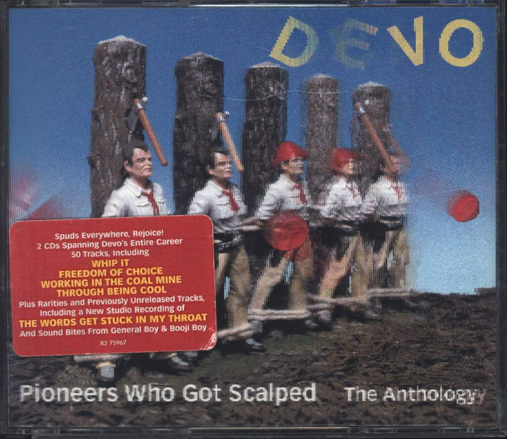 Devo: Pioneers Who Got Scalped - The Anthology, CD