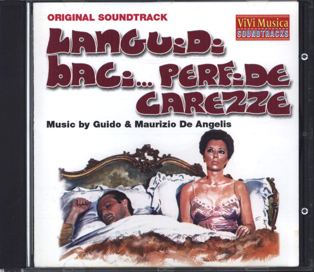 Guido And Maurizio De Angelis: Languidi Baci... Perfide Carezze, CD