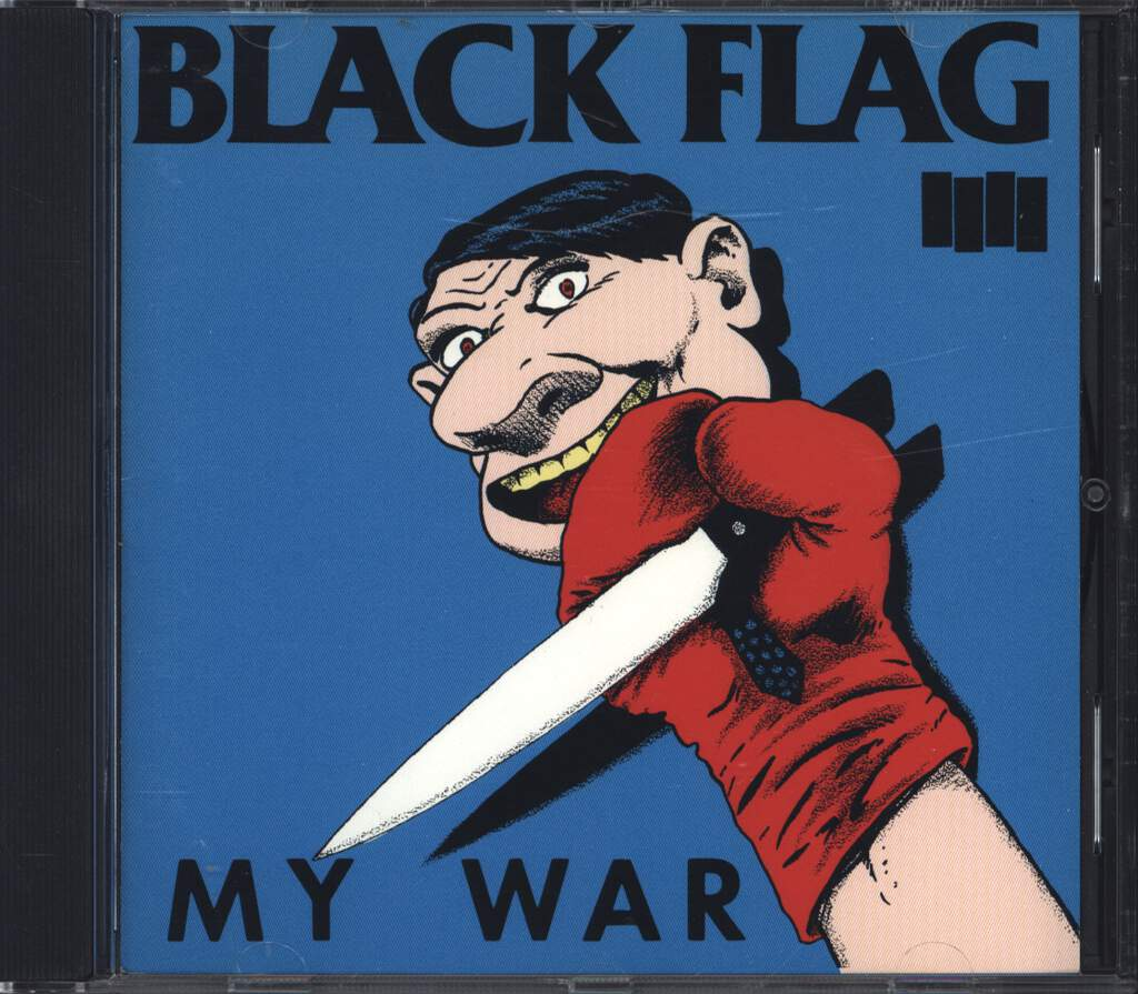 Black Flag: My War, CD
