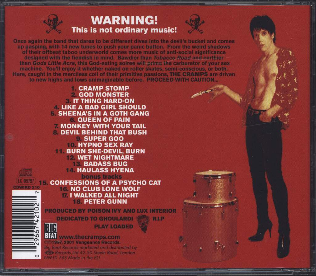 The Cramps: Big Beat From Badsville, CD