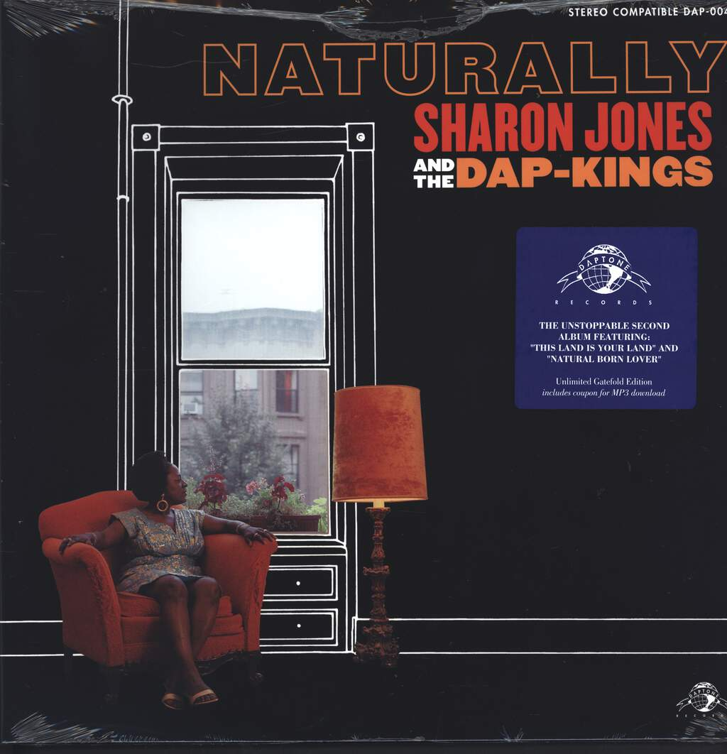 Sharon Jones & The Dap-Kings: Naturally, LP (Vinyl)