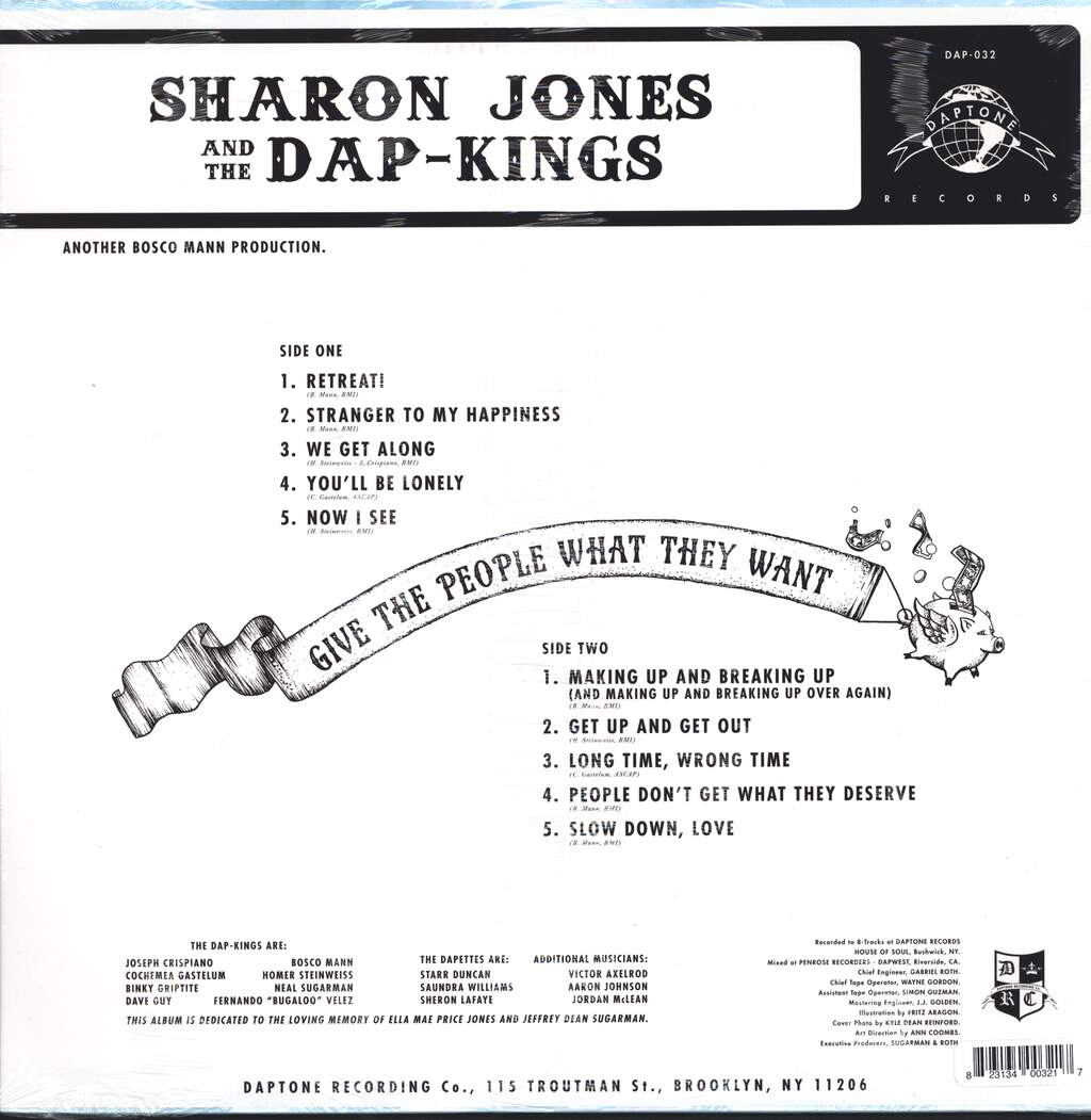 Sharon Jones & The Dap-Kings: Give The People What They Want, LP (Vinyl)