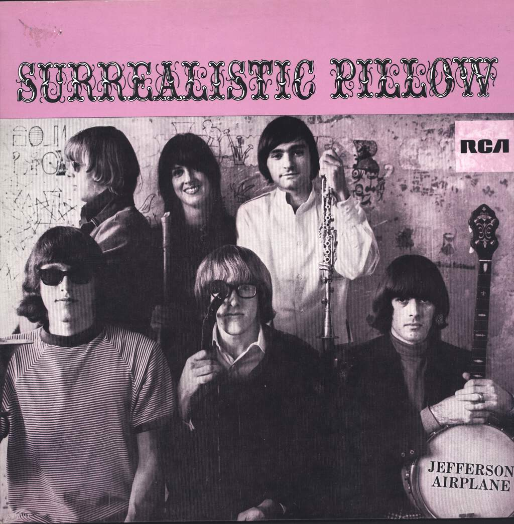 Jefferson Airplane: Surrealistic Pillow, LP (Vinyl)