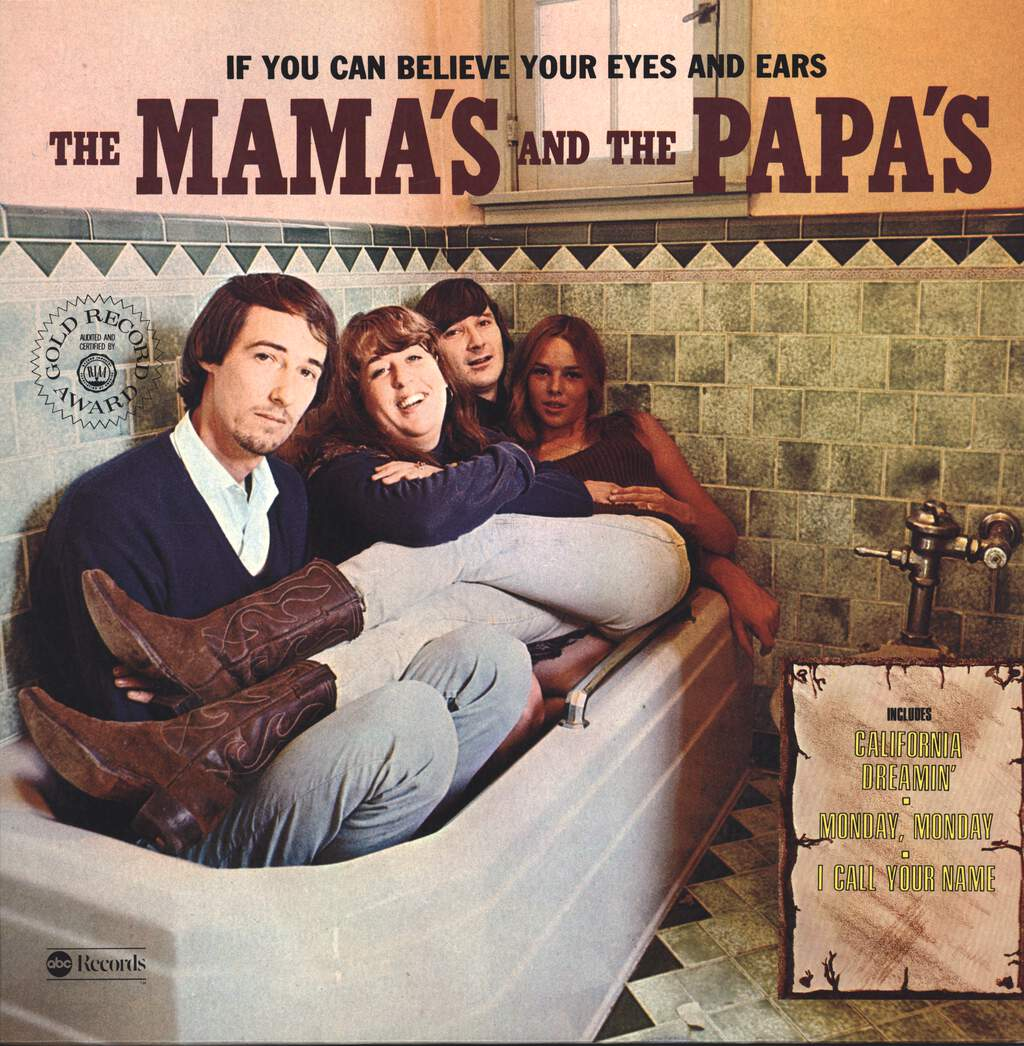 The Mamas & The Papas: If You Can Believe Your Eyes And Ears, LP (Vinyl)