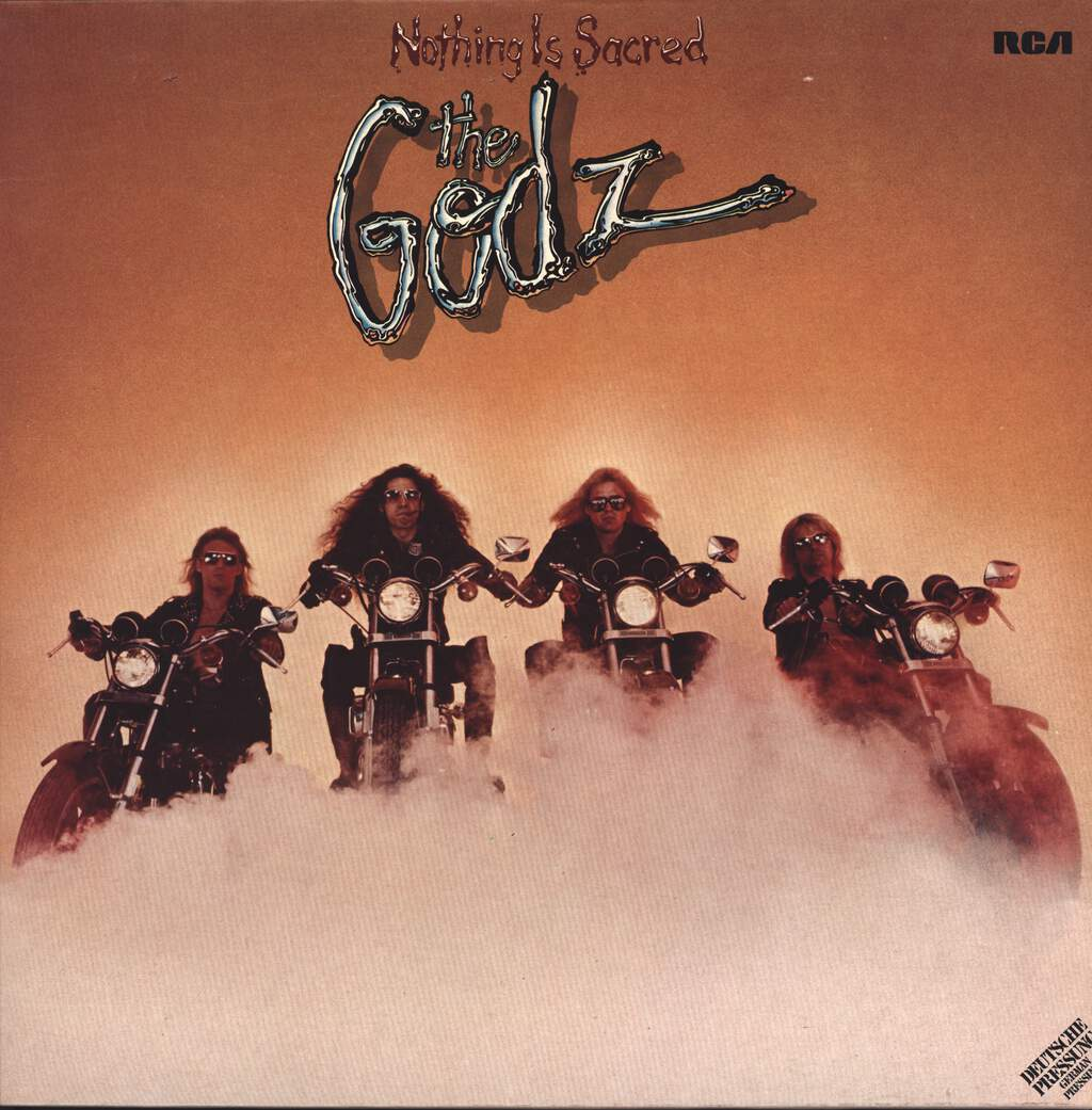 The Godz: Nothing Is Sacred, LP (Vinyl)