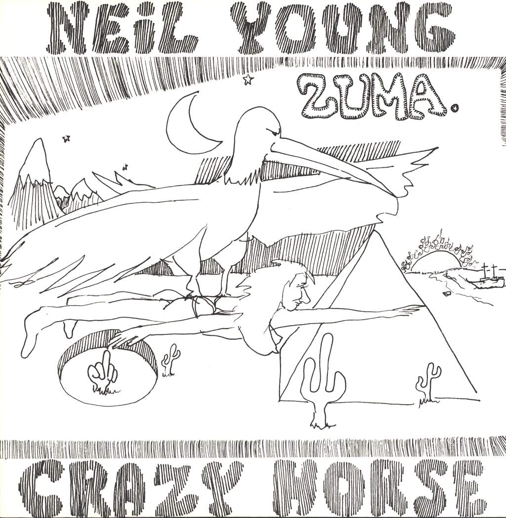 Neil Young & Crazy Horse: Zuma, LP (Vinyl)
