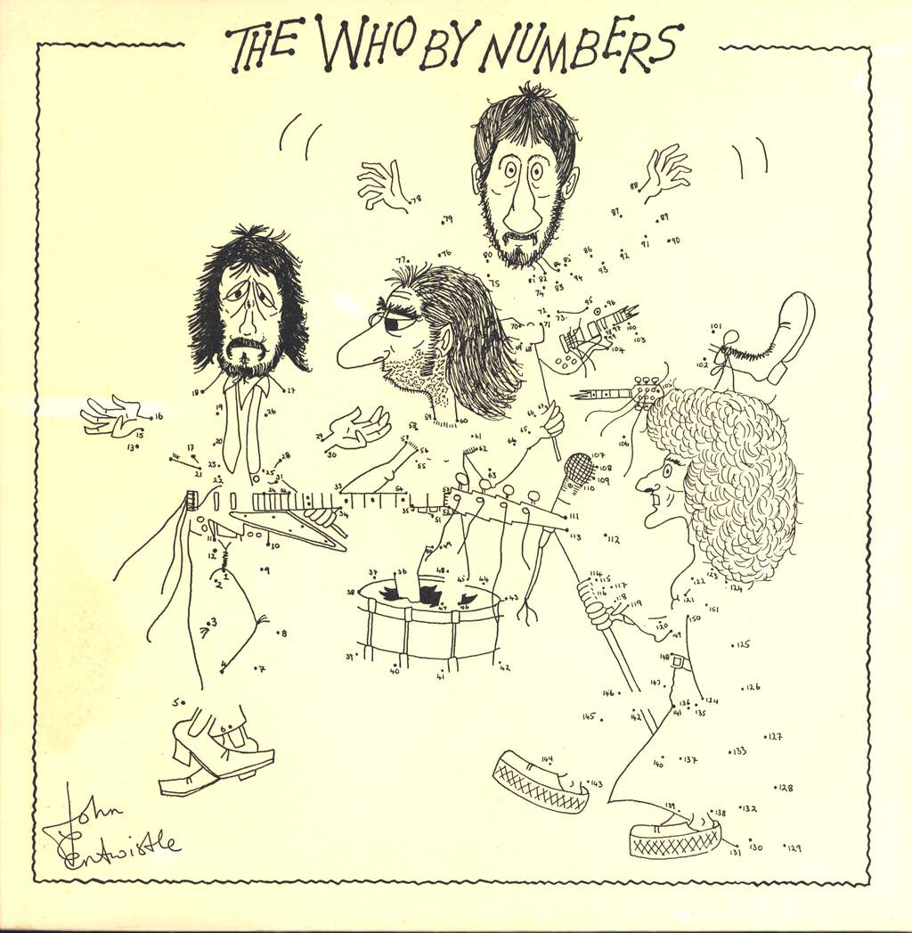 The Who: The Who By Numbers, LP (Vinyl)