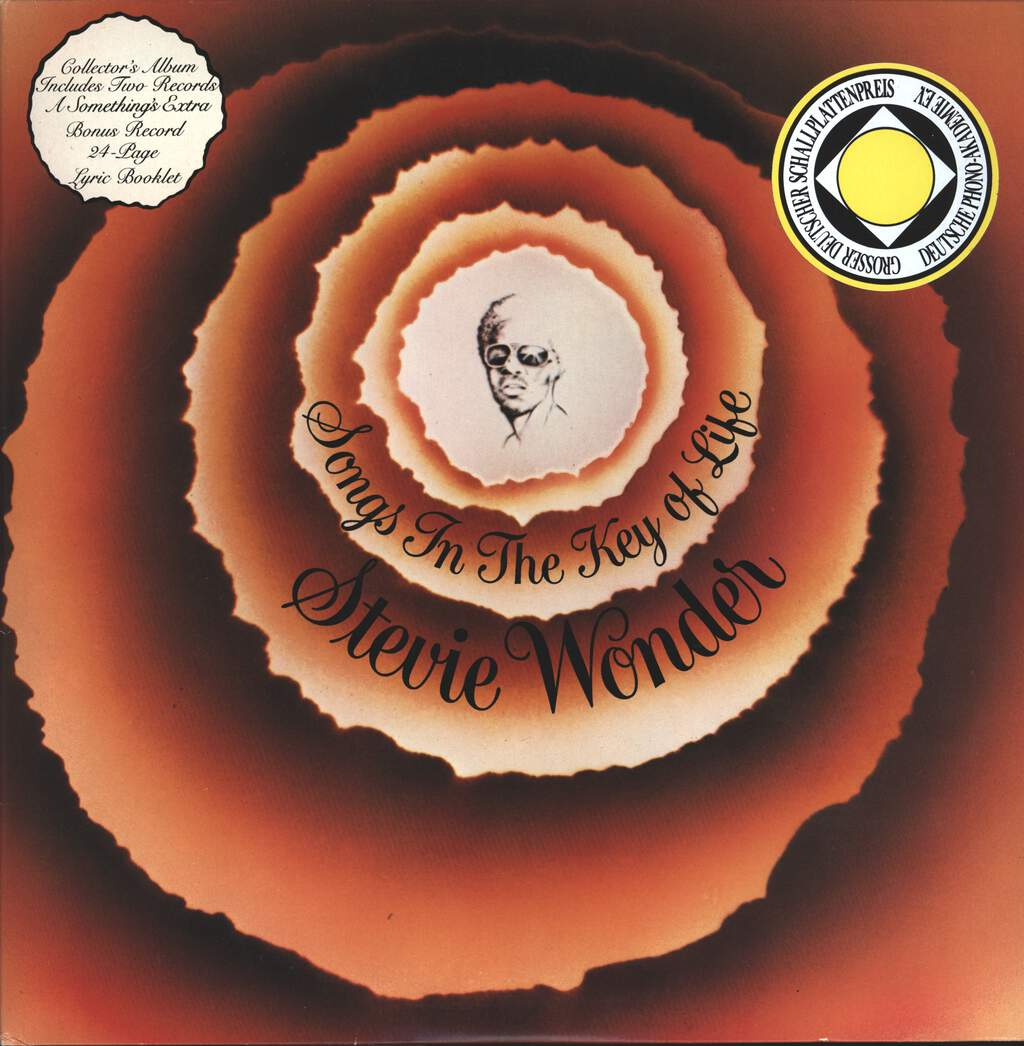 Stevie Wonder: Songs In The Key Of Life, LP (Vinyl)