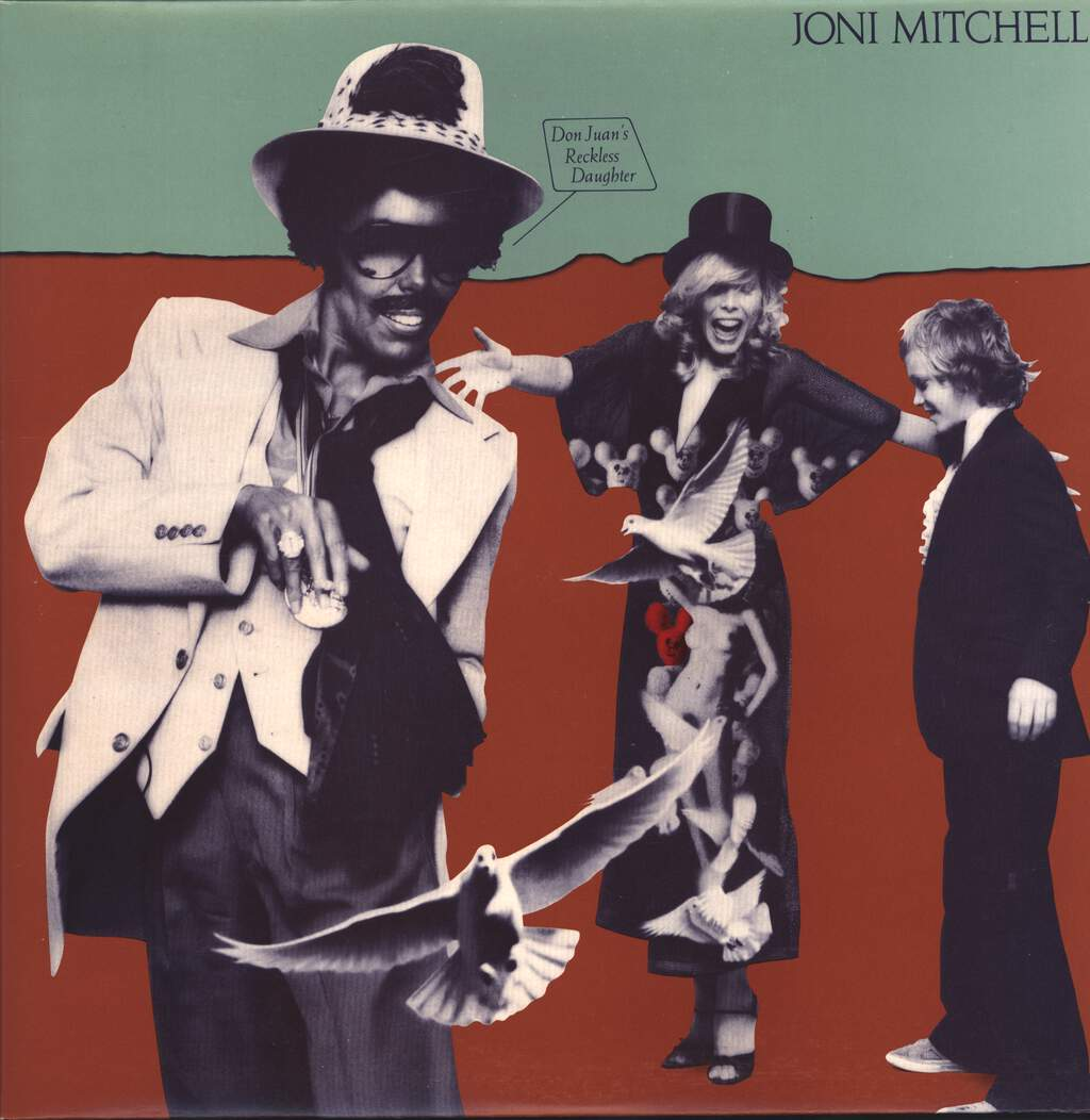 Joni Mitchell: Don Juan's Reckless Daughter, LP (Vinyl)