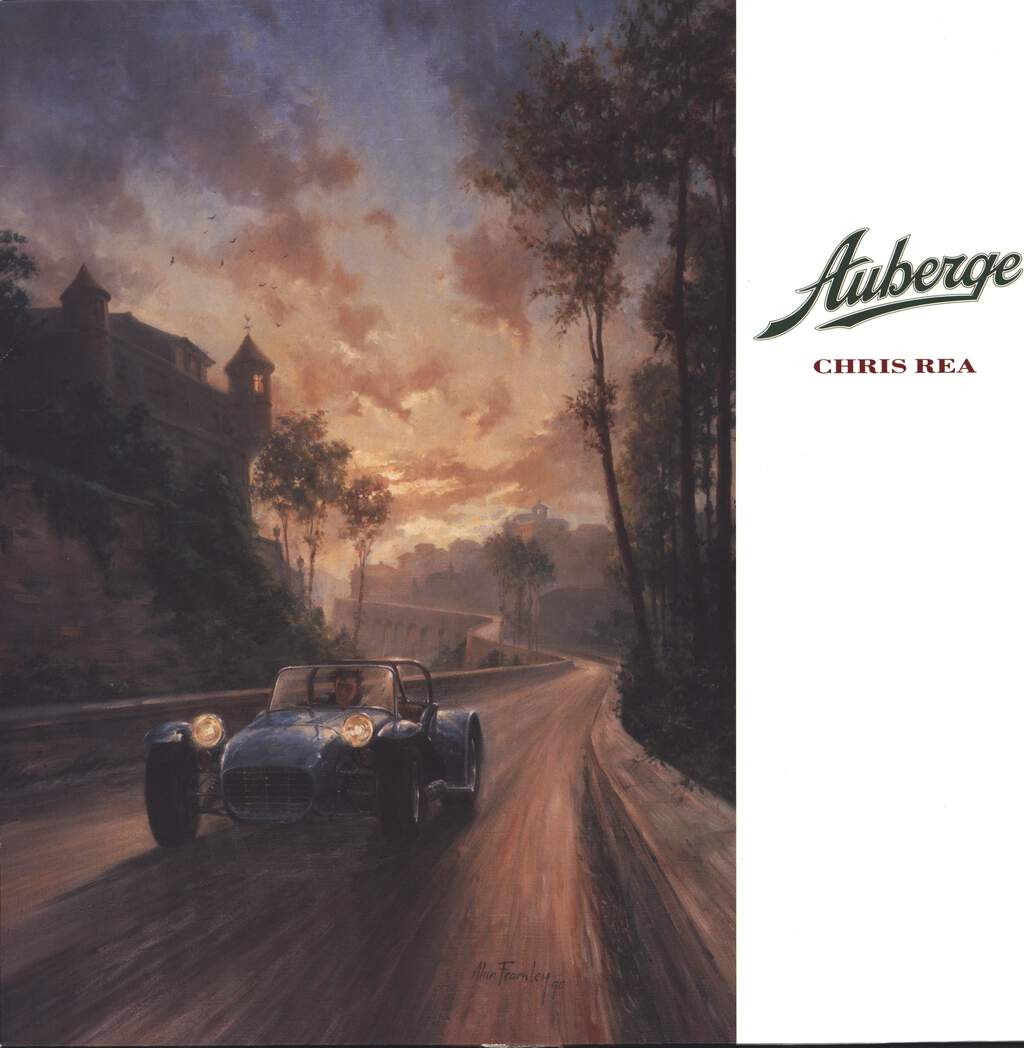 Chris Rea: Auberge, LP (Vinyl)