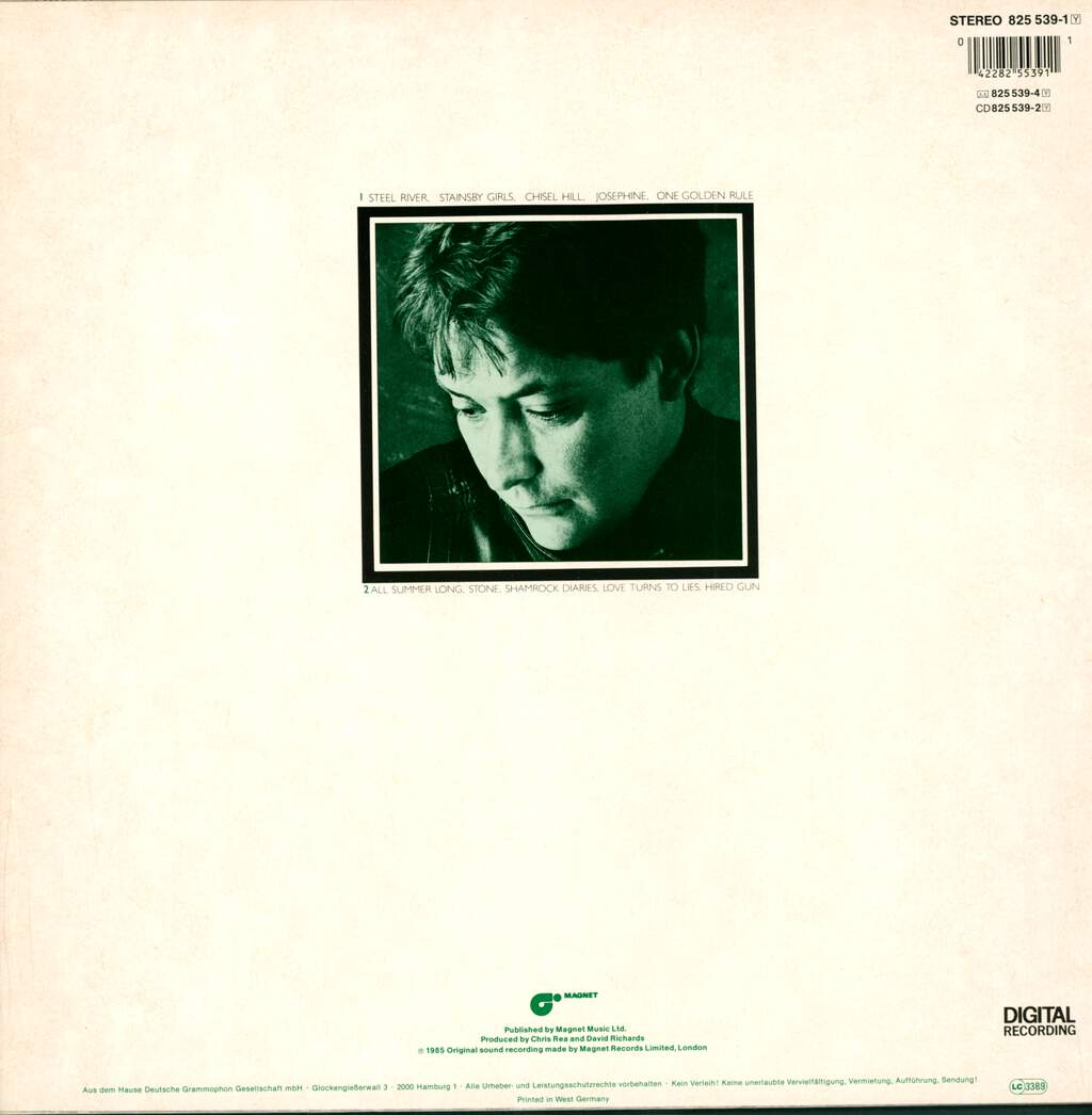 Chris Rea: Shamrock Diaries, LP (Vinyl)