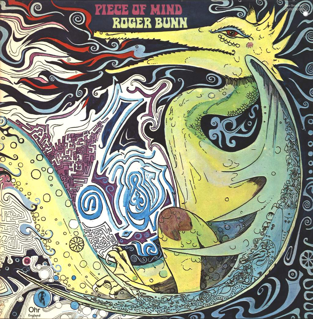 Roger Bunn: Piece Of Mind, LP (Vinyl)