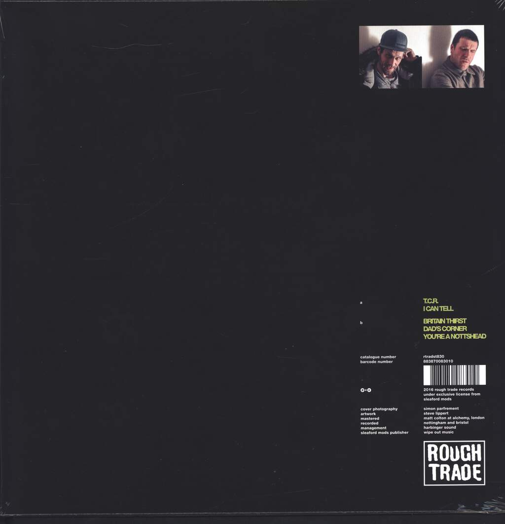 "Sleaford Mods: T.C.R., 12"" Maxi Single (Vinyl)"