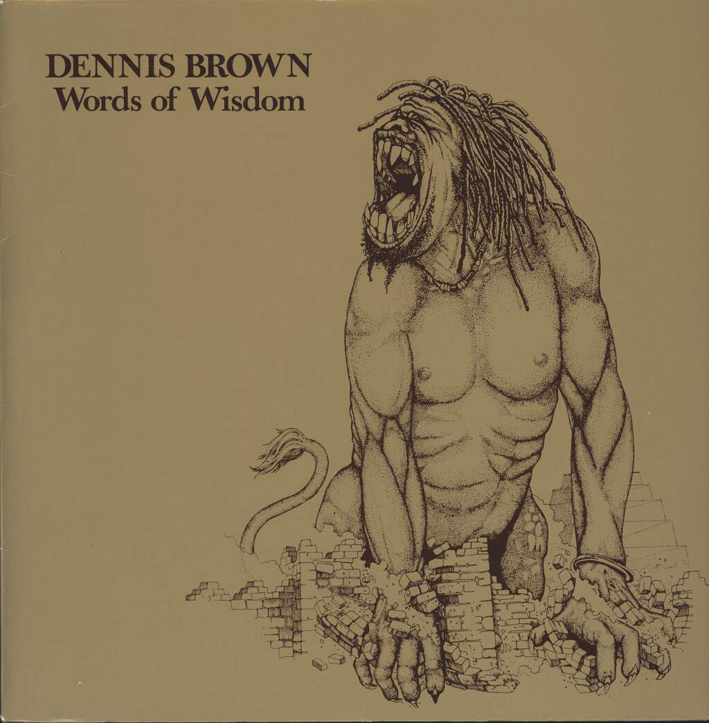 Dennis Brown: Words Of Wisdom, LP (Vinyl)
