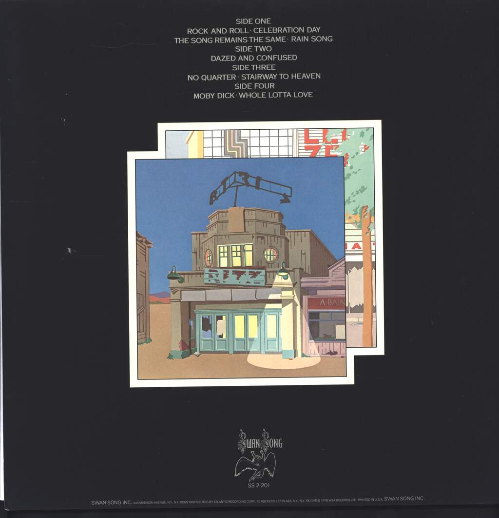 Led Zeppelin: The Soundtrack From The Film The Song Remains The Same, LP (Vinyl)