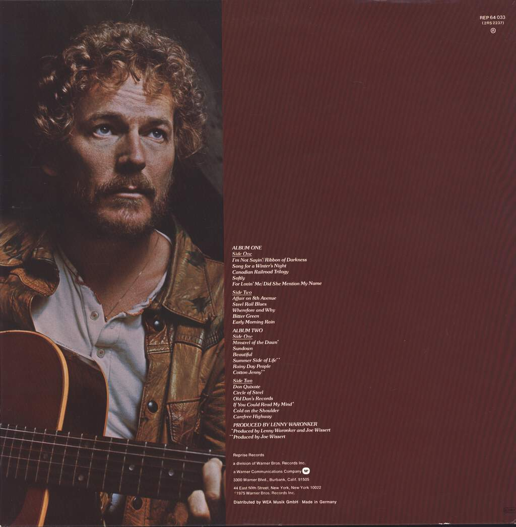 Gordon Lightfoot: Gord's Gold, LP (Vinyl)