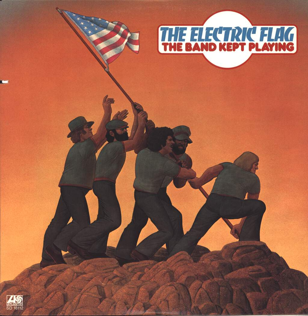 The Electric Flag: The Band Kept Playing, LP (Vinyl)