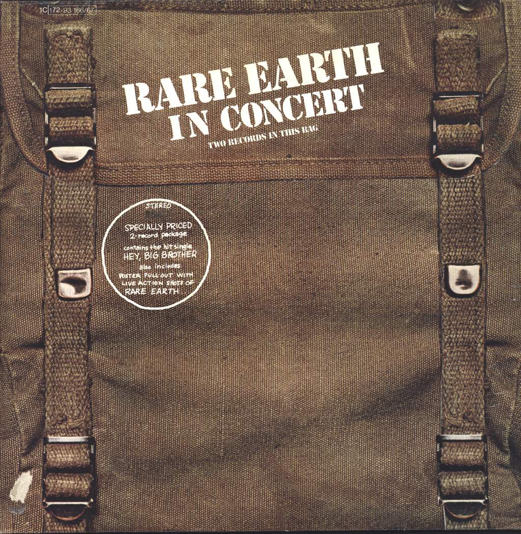 Rare Earth: Rare Earth In Concert, LP (Vinyl)