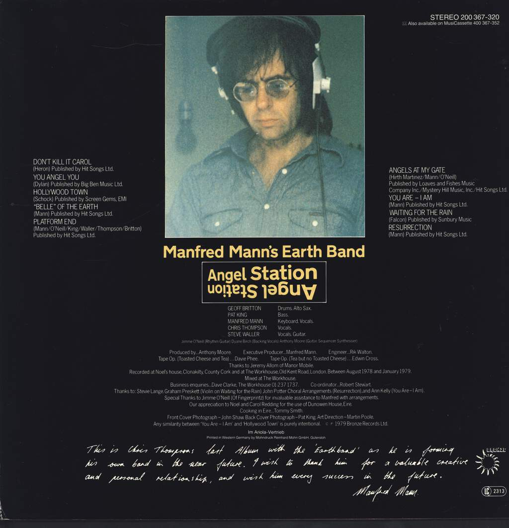 Manfred Mann's Earth Band: Angel Station, LP (Vinyl)