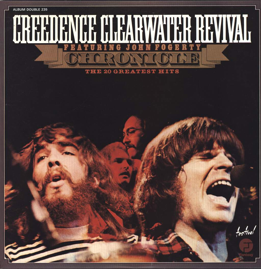 Creedence Clearwater Revival: Chronicle (The 20 Greatest Hits), LP (Vinyl)