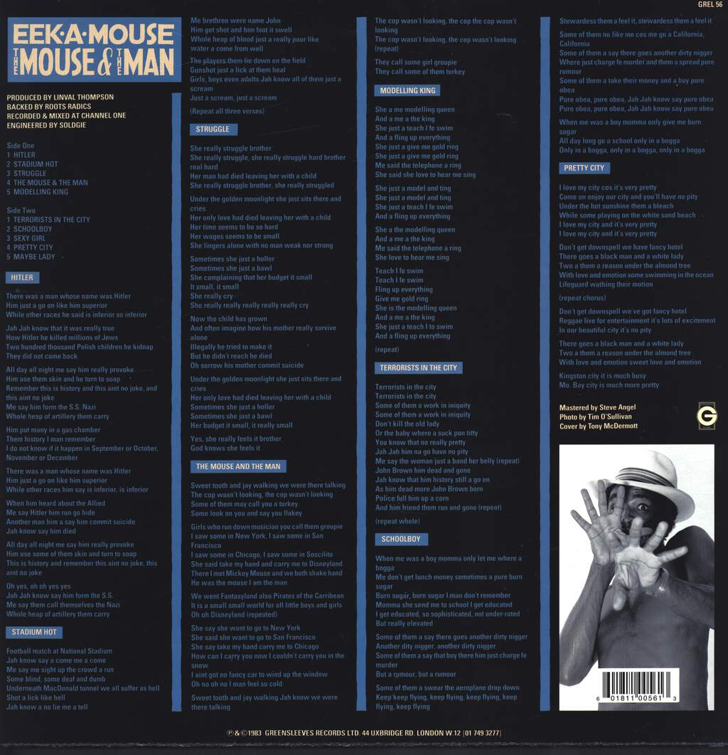 Eek-a-Mouse: The Mouse And The Man, LP (Vinyl)