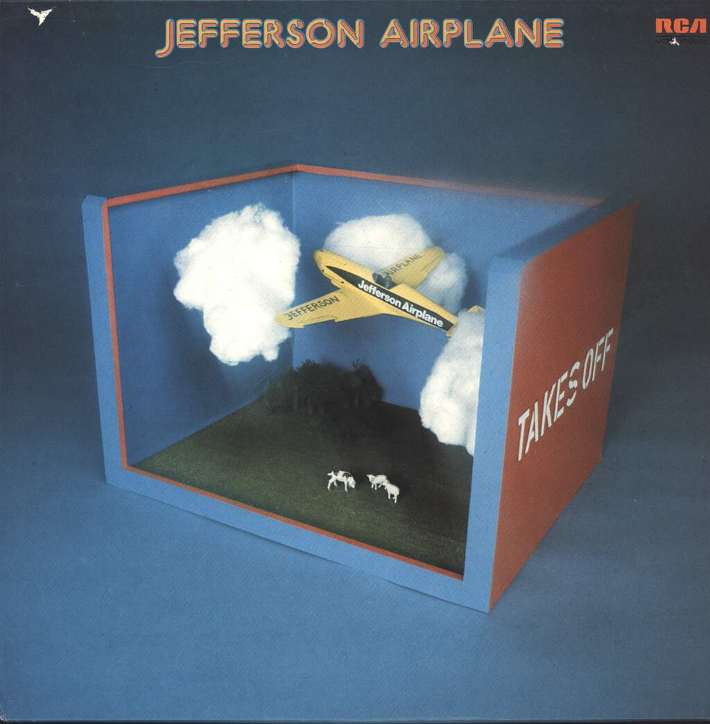 Jefferson Airplane: Takes Off, LP (Vinyl)