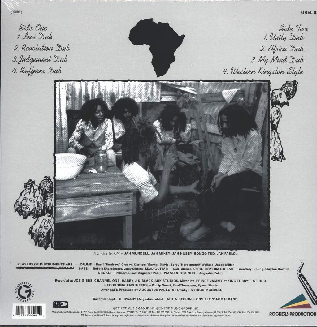 Augustus Pablo: Africa Must Be Free By 1983 Dub, LP (Vinyl)