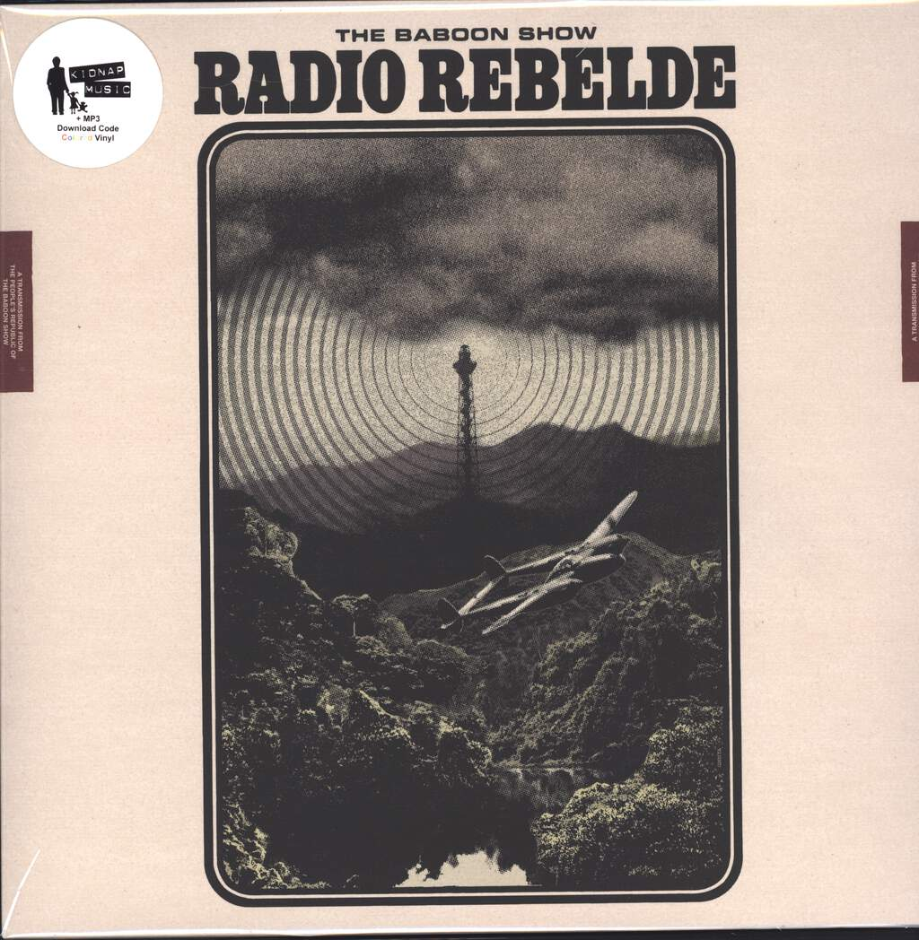 The Baboon Show: Radio Rebelde, LP (Vinyl)