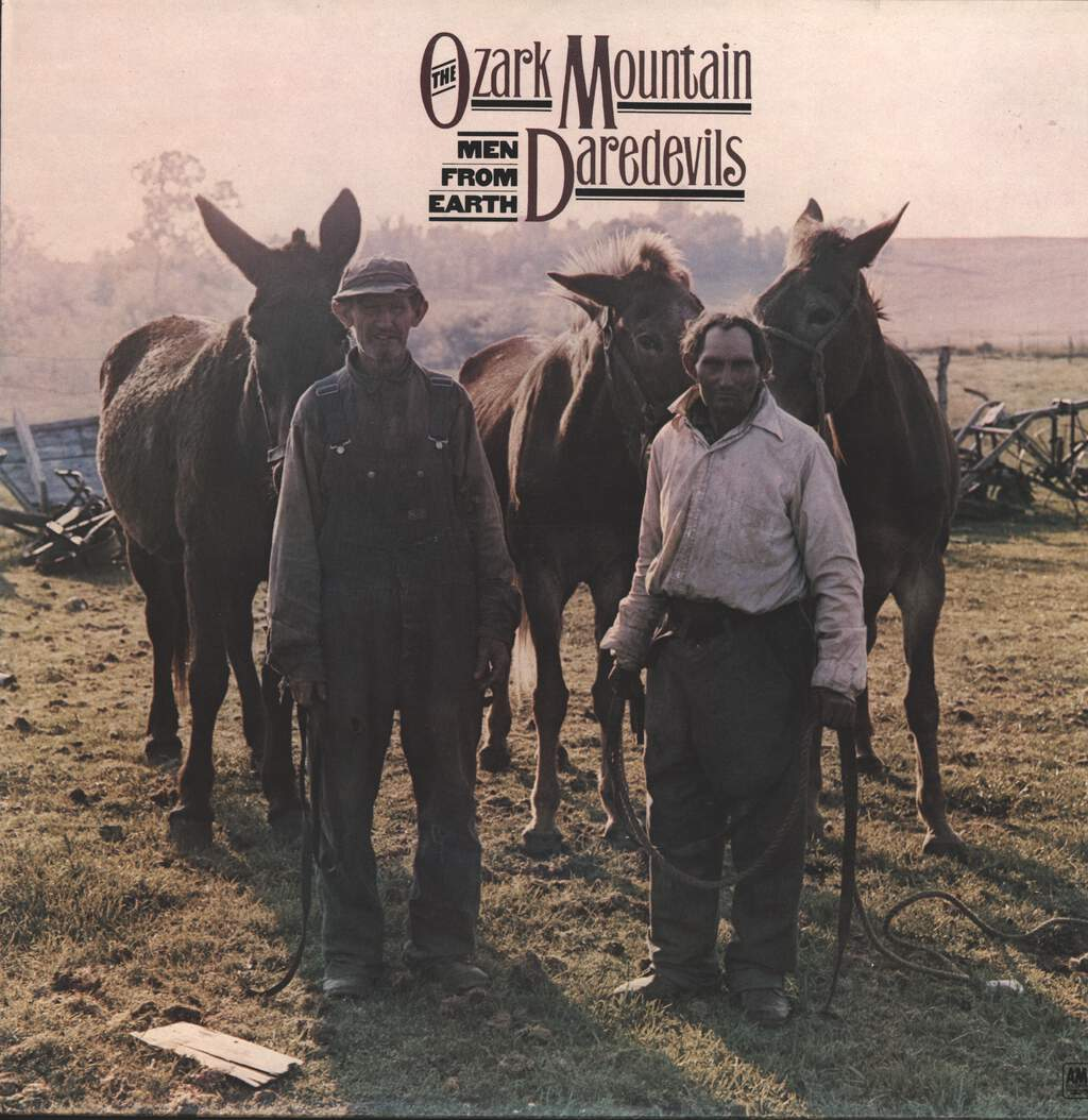 The Ozark Mountain Daredevils: Men From Earth, LP (Vinyl)