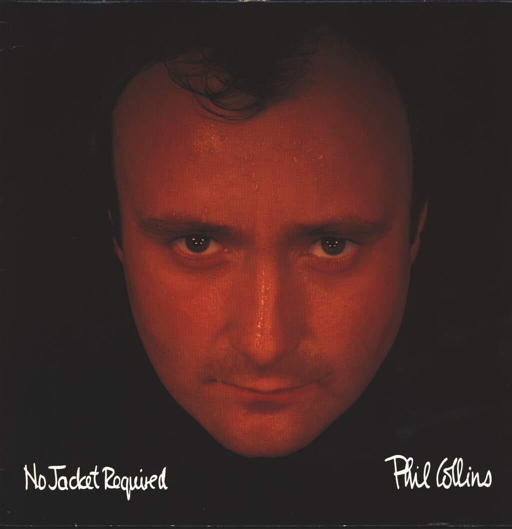 Phil Collins: No Jacket Required, LP (Vinyl)