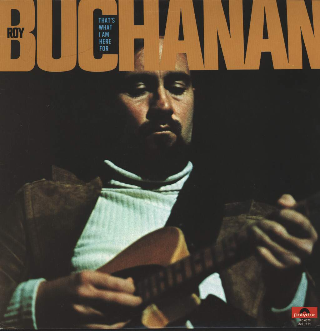 Roy Buchanan: That's What I Am Here For, LP (Vinyl)