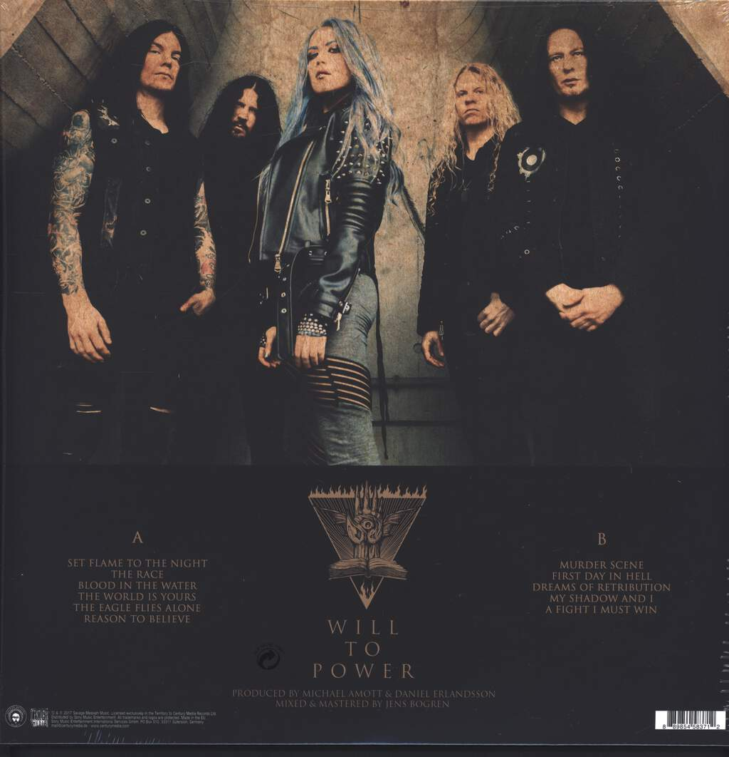 Arch Enemy: Will To Power, LP (Vinyl)