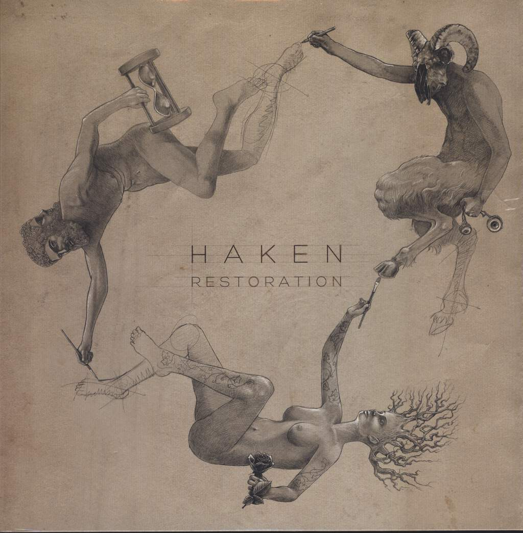"Haken: Restoration, 12"" Maxi Single (Vinyl)"