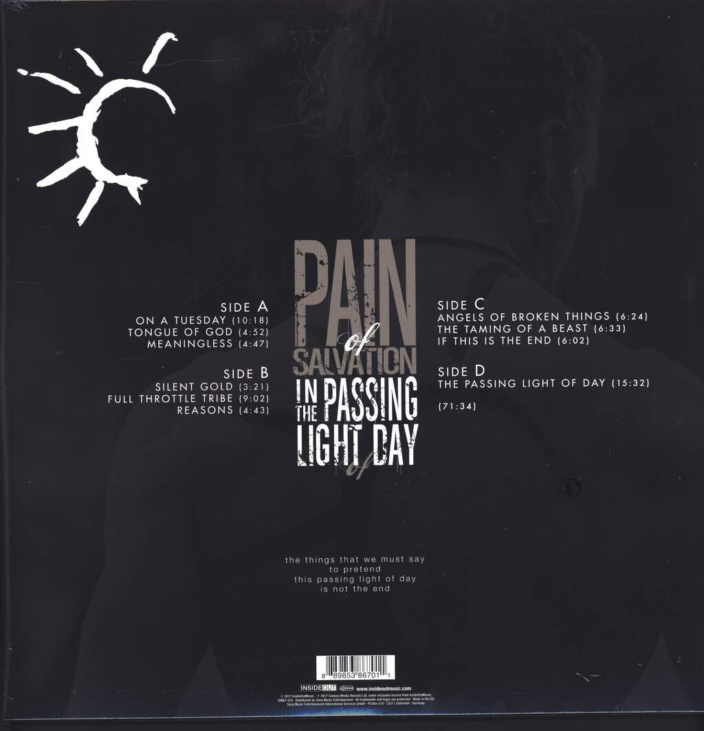 Pain Of Salvation: In The Passing Light Of Day, LP (Vinyl)
