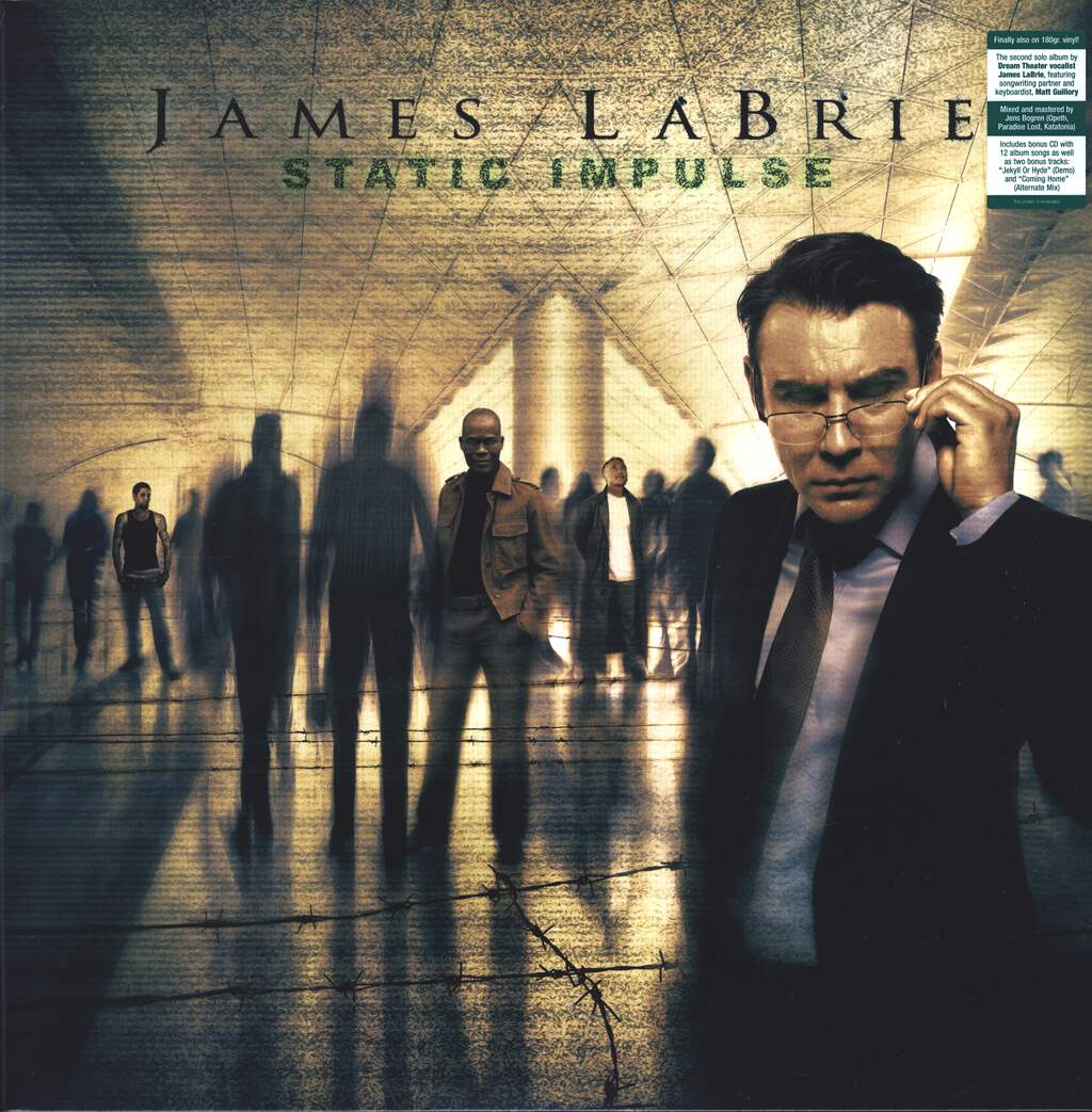 James LaBrie: Static Impulse, LP (Vinyl)