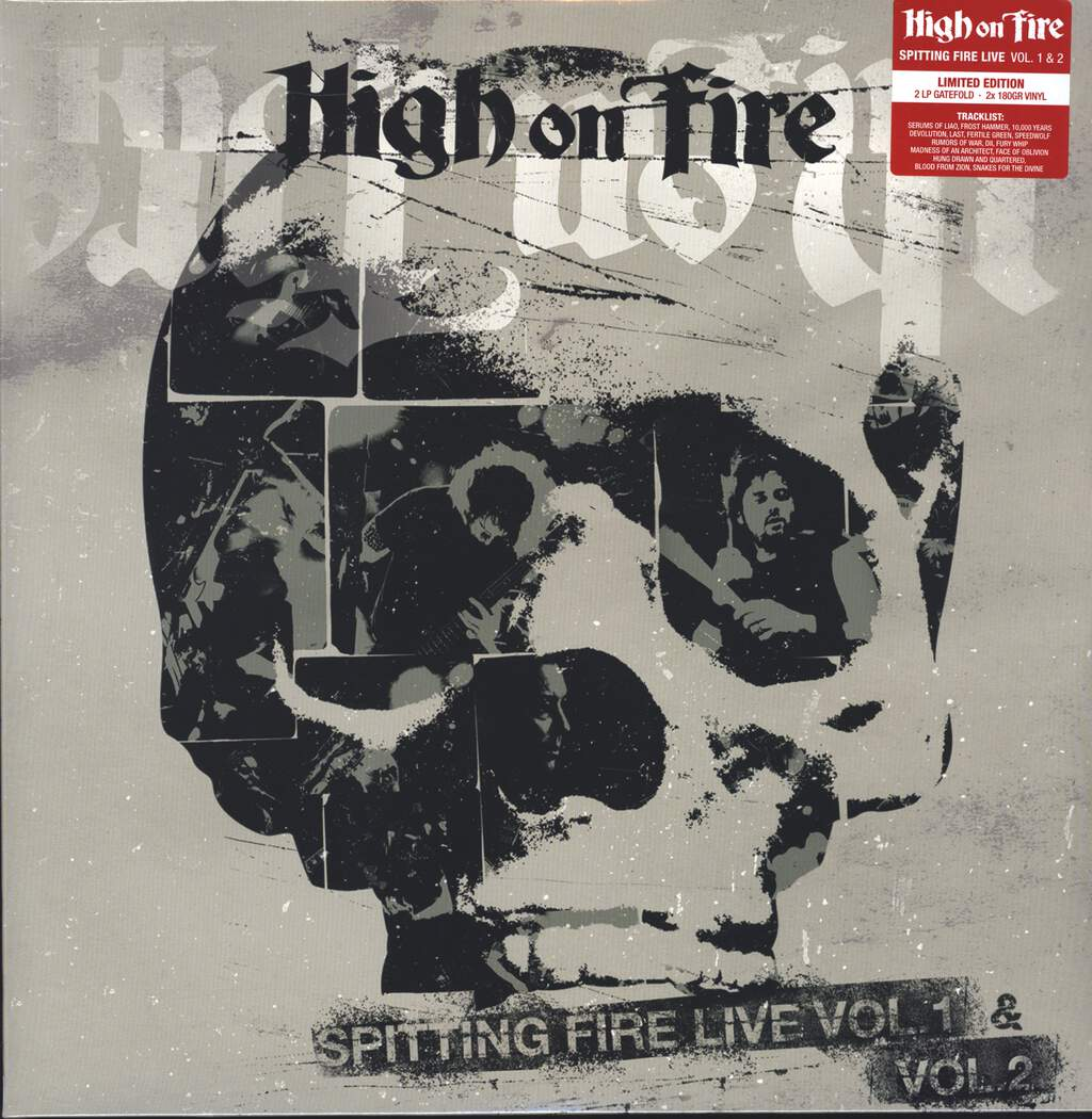 High On Fire: Spitting Fire Live Vol. 1 & Vol. 2, LP (Vinyl)