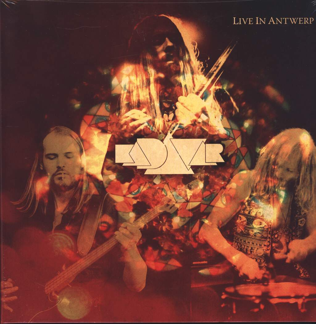 Kadavar: Live In Antwerp, LP (Vinyl)