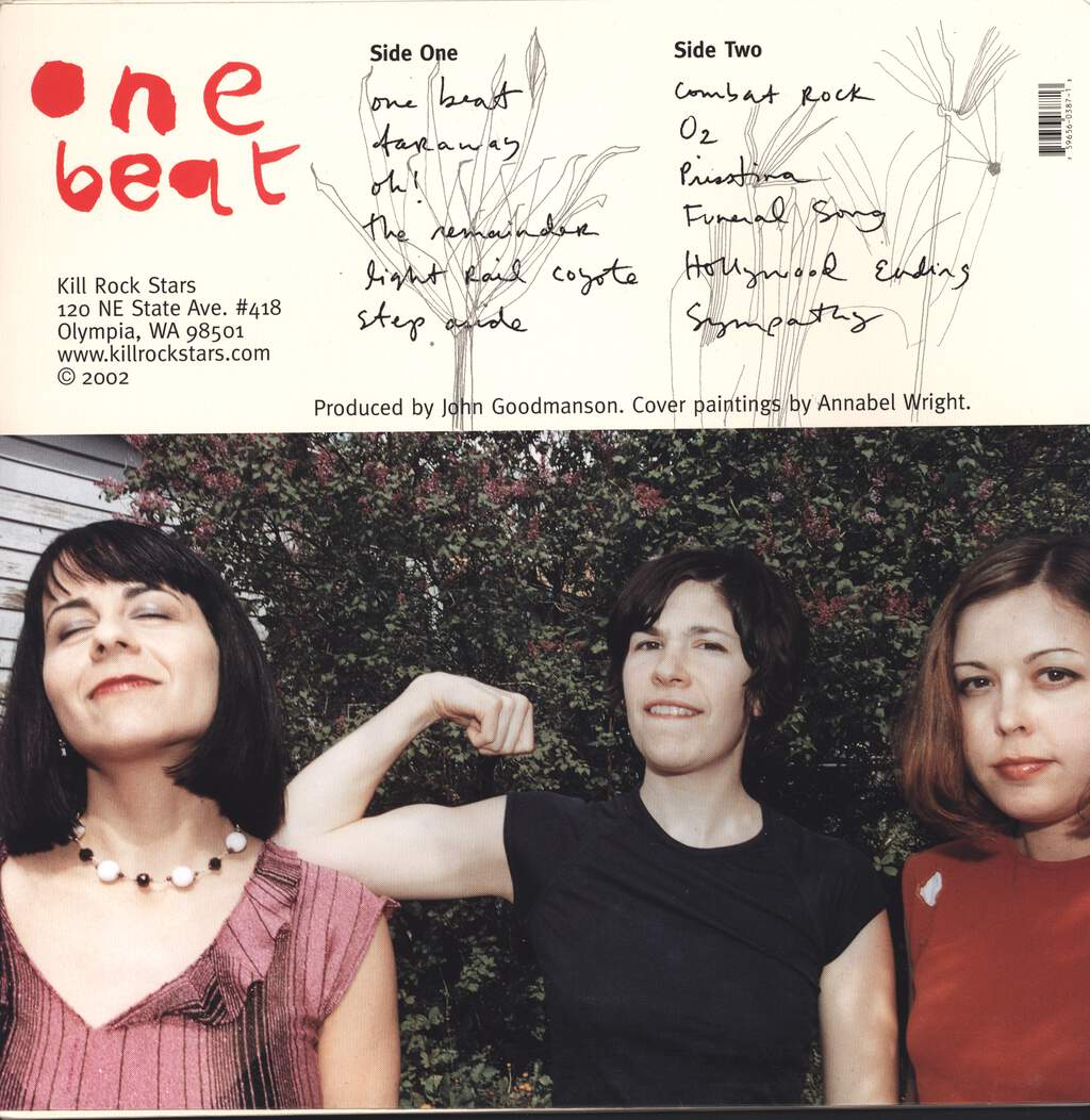 Sleater-Kinney: One Beat, LP (Vinyl)