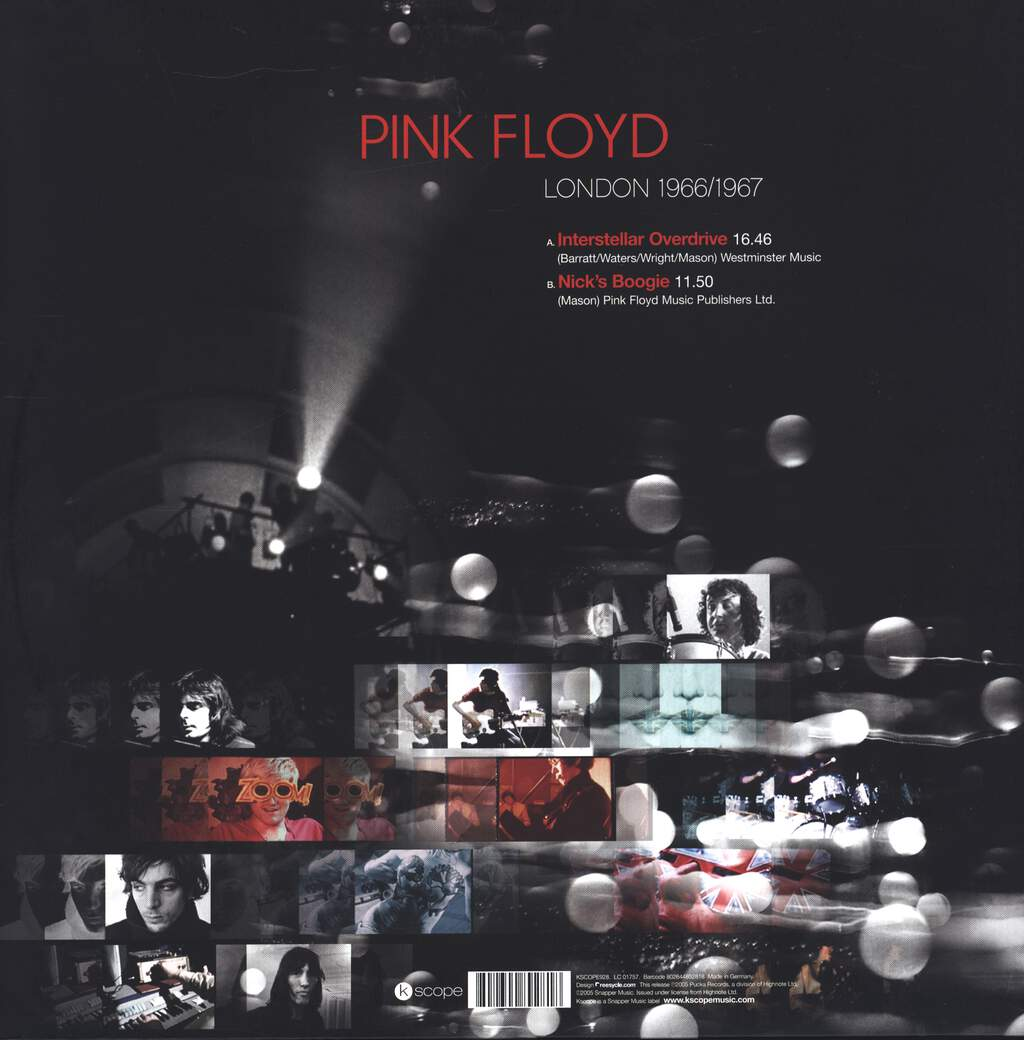 "Pink Floyd: London 1966/1967, 12"" Maxi Single (Vinyl)"