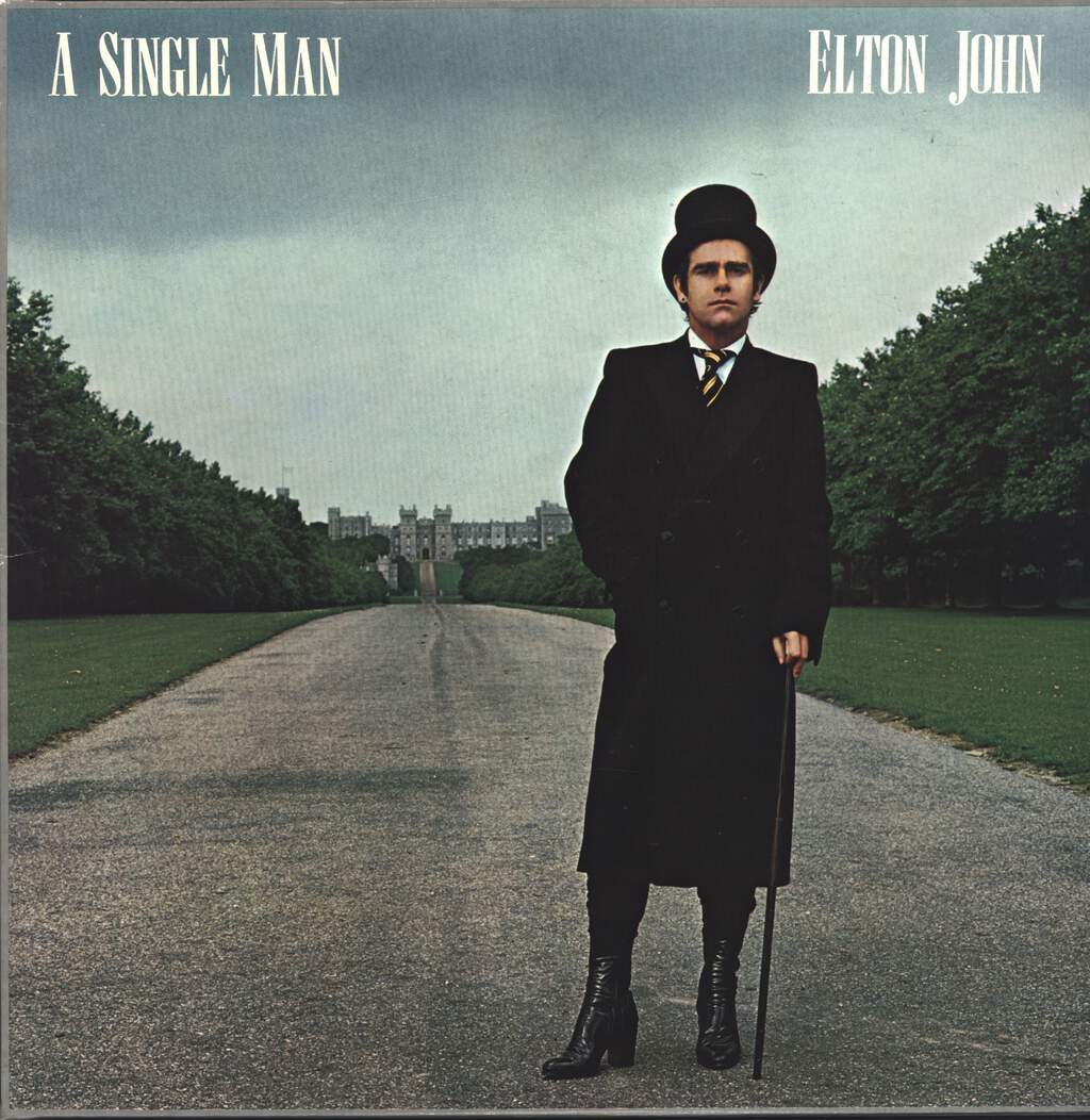 Elton John: A Single Man, LP (Vinyl)