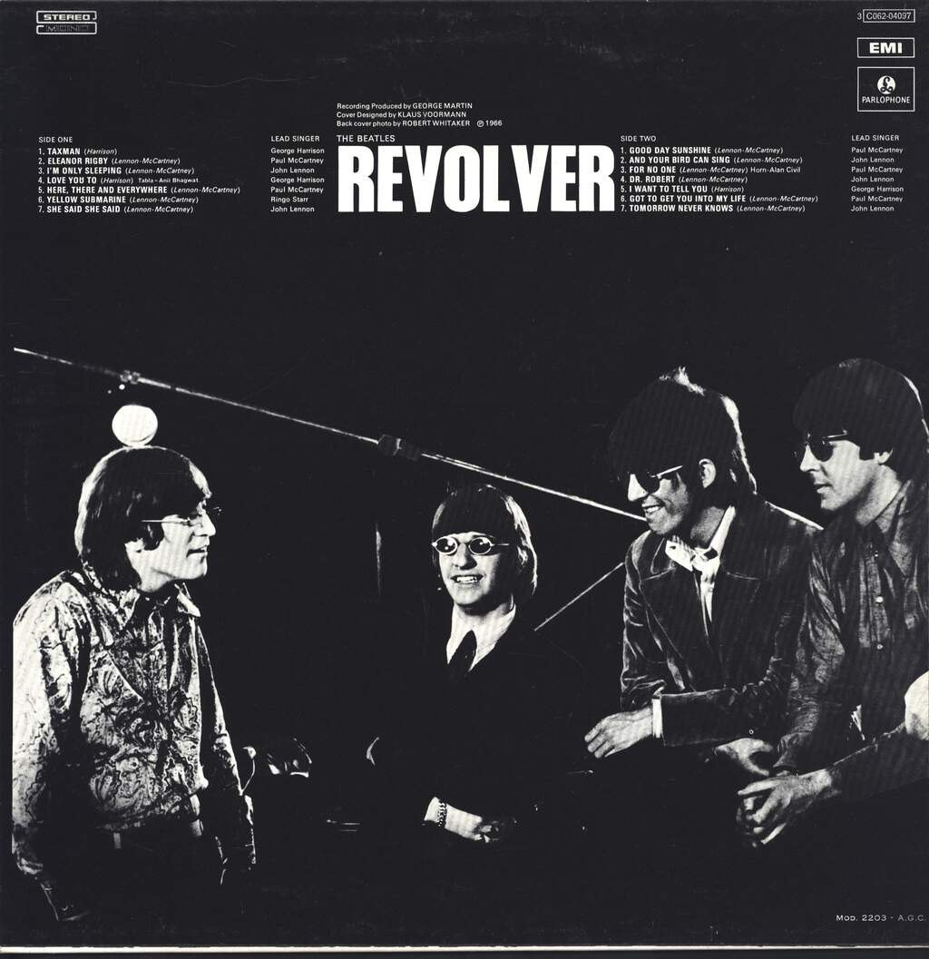 The Beatles: Revolver, LP (Vinyl)