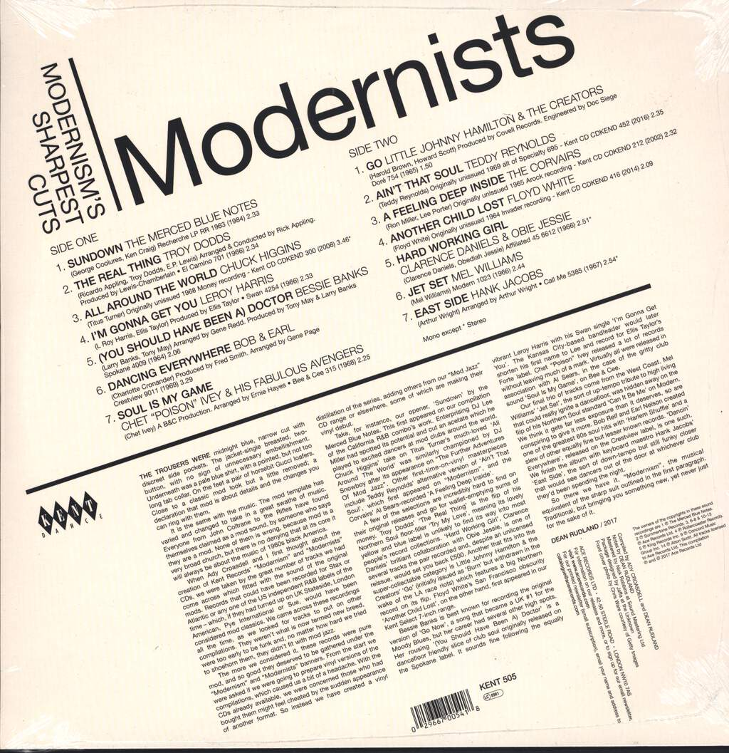 Various: Modernists - Modernism's Sharpest Cuts, LP (Vinyl)