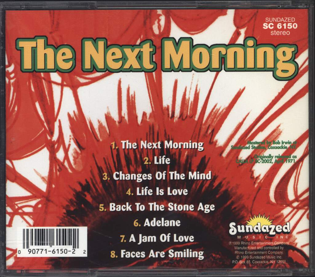 The Next Morning: The Next Morning, CD